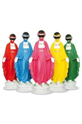 Empowered Maria Statues by Soasig Chamaillard