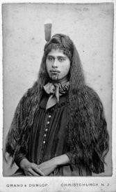 Portrait of Susan Jury (Te Aitu-o-te-rangi Wikitoria Jury, also known as Sue Materoa Jury), 1876-1880