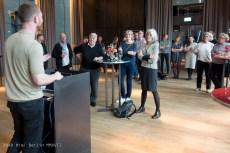 Opening in het Conservatorium museum