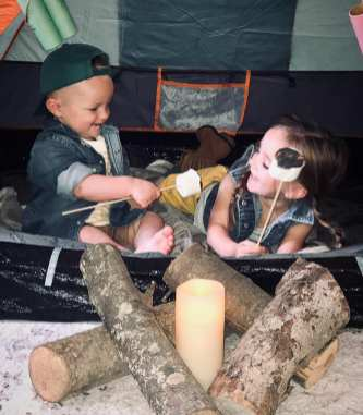 Addi & Max camping 2