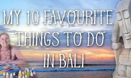 My 10 favourite things to do in Bali