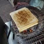 台南のおすすめ朝ごはん「阿嬤碳烤三明治」。おばあちゃんの炭焼きサンドイッチ