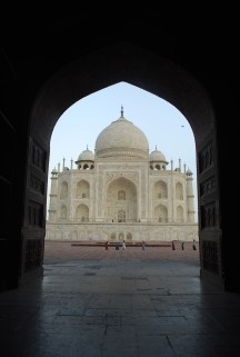 Framing the Taj
