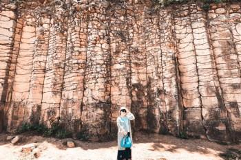 澎湖|池東大菓葉柱狀玄武岩:澎湖國際級地標&IG美拍景點,展現千萬年壯觀地貌