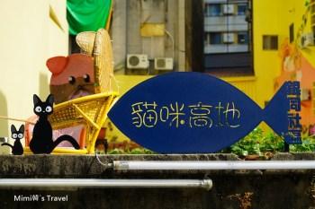 【台南景點】貓咪高地(銀同里彩繪巷)聚珍台灣,隱藏在台南市區裡的IG打卡小秘境