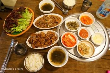 【首爾東大門美食】東大排骨王동대갈비왕:帥氣老闆親自烤給妳吃,推薦一人份烤牛肉&豬肉套餐