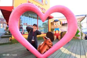 【首爾仁川景點】松月洞童話村:超好拍!韓國3D童話彩繪村,就像走進童話世界中,必拍可愛小木偶皮諾丘