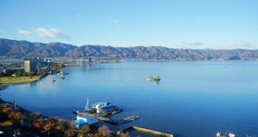 【長野景點】諏訪湖&立石公園:電影你的名字系守湖朝聖,紅屋溫泉飯店住一晚
