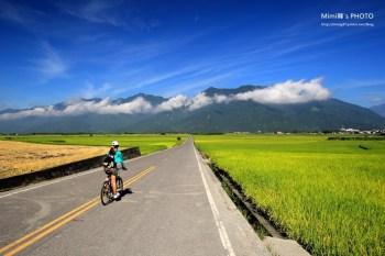 【台東景點】池上環鄉自行車道:穿過伯朗大道,稻浪迷人騎腳踏車正夯
