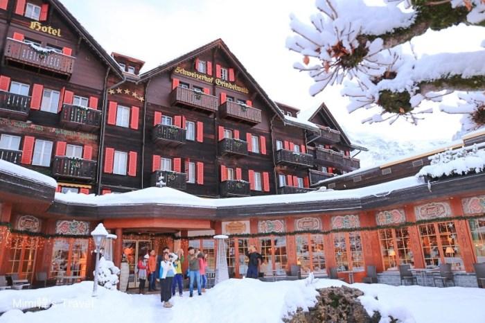 【瑞士格林德瓦住宿】少女峰下的施瓦茨霍夫浪漫飯店Romantik Hotel Schweizerhof:格林德瓦車站3分鐘
