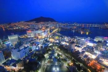 【釜山景點】南浦洞 x 釜山塔:必看釜山海港超美夜景&精彩煙火秀,輕鬆上山交通分享
