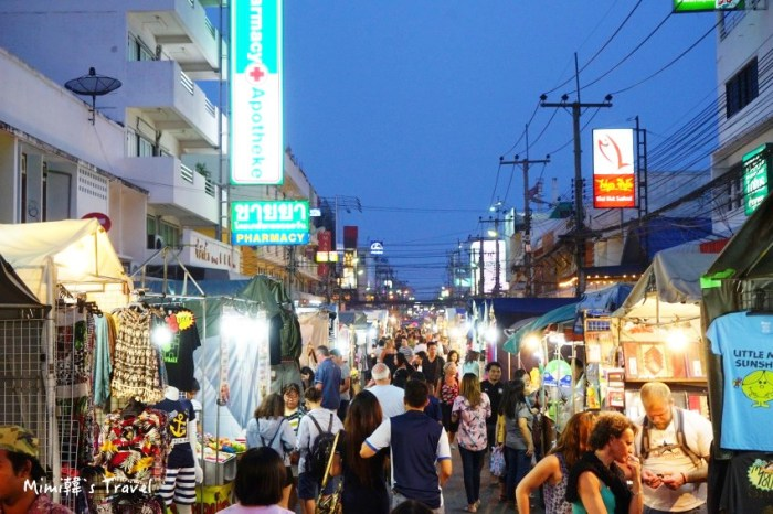 【華欣一日遊】華欣夜市 Chatchai Night Market:現烤大龍蝦好過癮,交通/必吃美食分享