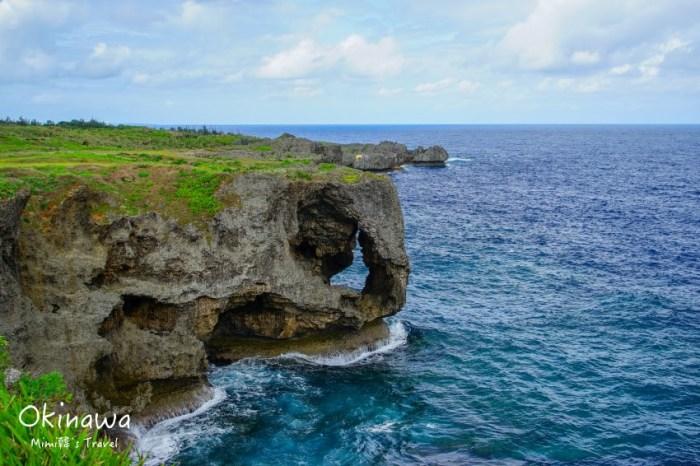 【沖繩景點】萬座毛:恩納必拍巨大象鼻岩,可納萬人的大草原