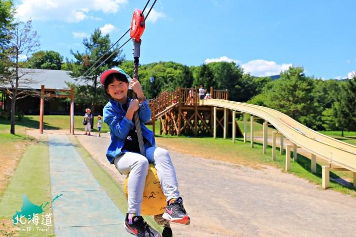 【北海道旭川】神威森公園(附Mapcode):森林系無料親子景點,晴雨都能玩