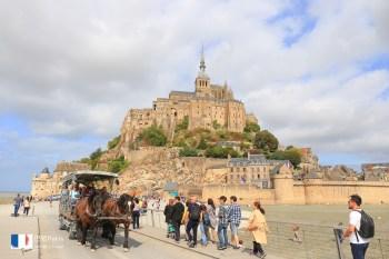 【法國景點】聖米歇爾山:交通門票一日遊彙整!巴黎出發超簡單,必訪世界文化遺產