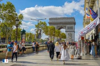 【巴黎凱旋門】交通門票&凱旋門登頂心得,法國巴黎香榭麗舍大道必訪地標景點