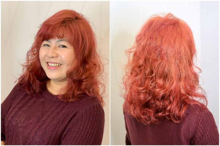 【台南美髮推薦】米蘭時尚髮型&設計師推薦:專業結構式燙髮,漂燙染一次完成超滑順
