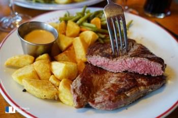 【巴黎美食】Le Louchebem 牛排:近羅浮宮&龐畢度中心,只要23.9歐,便宜大塊!