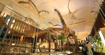 【台北親子景點】國立台灣博物館土銀展示館:巨大恐龍化石好壯觀,金庫打開隨你逛