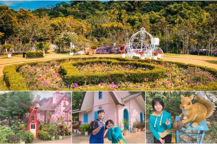 【雲林古坑】蘿莎玫瑰山莊(免門票景點)浪漫雙心花園、植物迷宮,6000坪園區賞花趣!