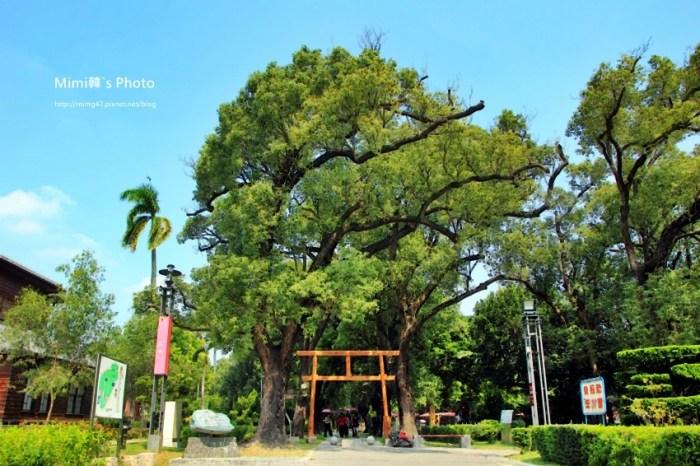 【台南景點】麻豆總爺藝文中心:自由自在的生活空間。有樟樹綠蔭、有文創展覽、有歷史故事,還有大鳥居~