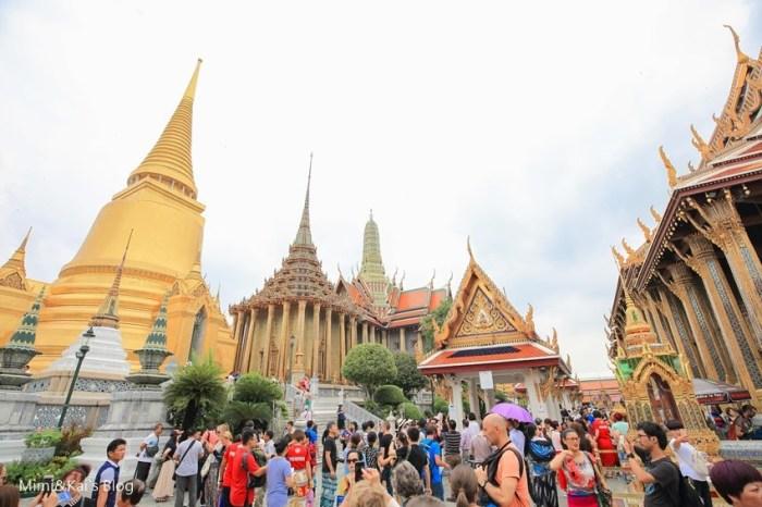 【曼谷景點】大皇宮&玉佛寺:門票越來越貴!昭披耶河畔,曼谷金光閃閃國際級景點