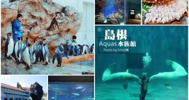 【島根療癒景點】島根Aquas水族館:與超可愛小白鯨水中互動。沒錯我就是水族館控~