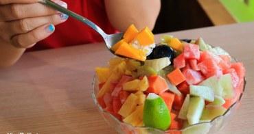 【台南美食】家鄉八寶冰:空間寬敞,黑糖八寶冰很優,水果冰好大一盆才100,平價享受唷~