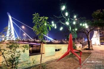【台南旅遊景點】台南水岸藝術節2015 - 運河擱再有新夢:藝術點燈,老運河亮起來囉~