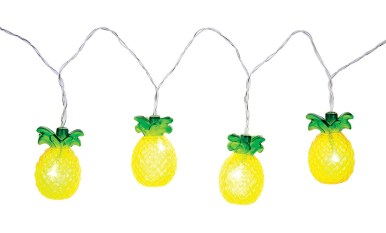 Fruit fairy lights - pineapples