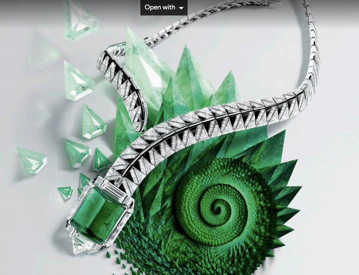 Cartier's Sur Nature High Jewelry collection