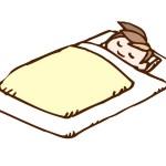 【布団の掛けすぎに注意!?】子供が風邪を引いたときの寝汗の対策