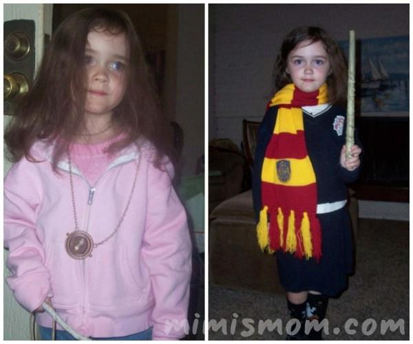Hermione Costume Collage