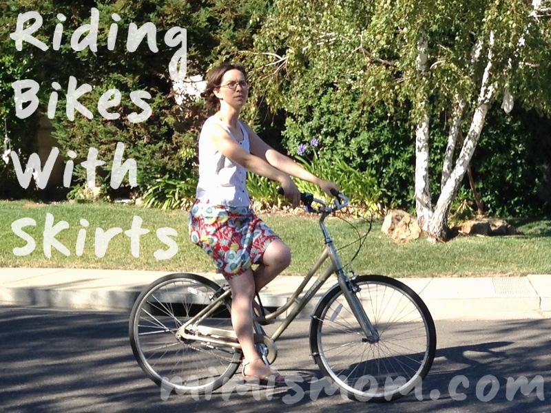 Riding on Bikes with Skirts - A Summer of No Pants Guest Post (2/6)