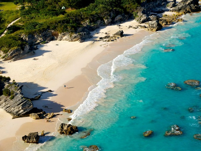 Stonehole Bay Beach (credit Bermuda Tourism Authority)