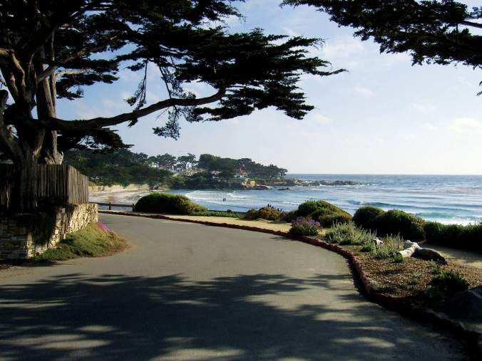 CarmelCalifornia - Scenic Road - Hi-Res