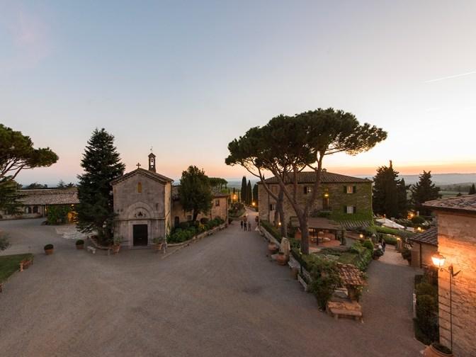 chapel at Borgo San Felice (photo courtesy of Borgo San Felice)