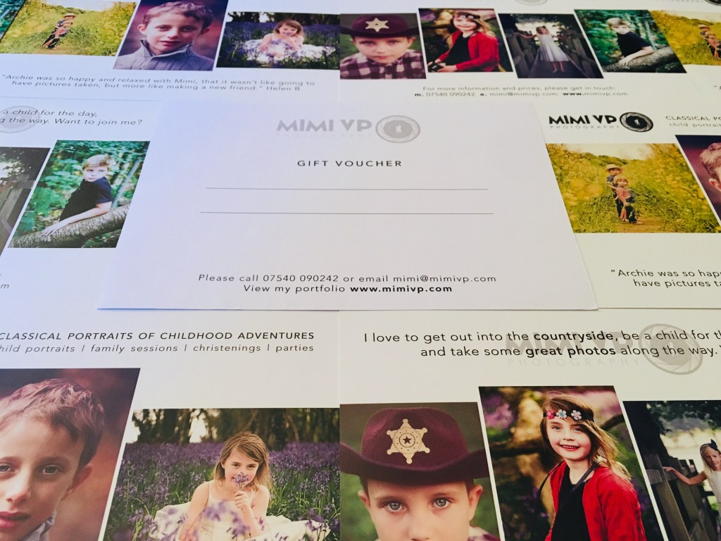 Gift Vouchers by Mimi VP Photography