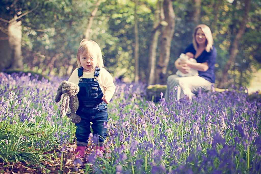 Mother's Day in bluebells