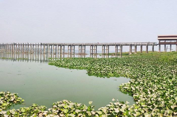 【緬甸自由行】三城一湖追光逐影之旅08.烏本橋( U Bein Bridge)|走一條歲月悠長的百年古柚木橋