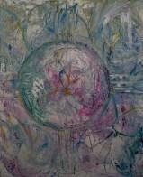 80x90cm Acrylic and sand on canvas, SEK16 000,00