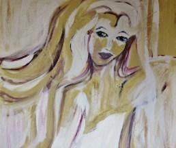 Home at last, 80x100cm Acrylic on canvas, SEK 15 000,00