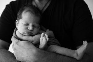 Papi con la baby - foto de Victòria Peñafiel