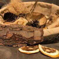 Elementos naturales – Cesta de los tesoros DIY