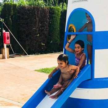 Tobagán Faro piscina infantil