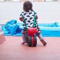 Tester Camiseta infantil Equis de Naii Costura