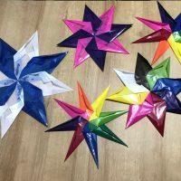 Estrellas Waldorf para decorar a nuestra manera
