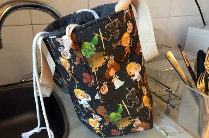 Mi lunch bag terminada