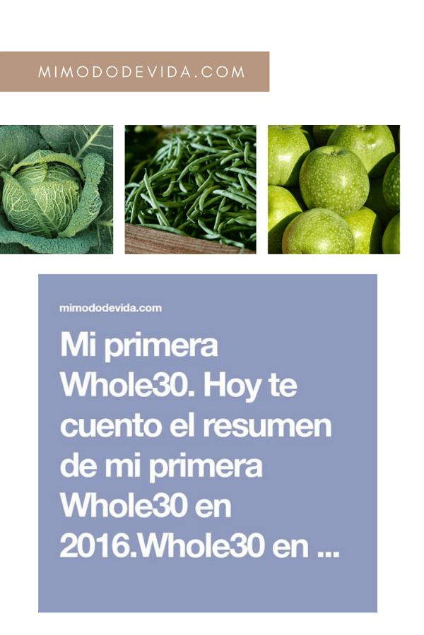 mi primera Whole30 - 62.- Mi primera Whole 30