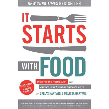 """It starts with food min - El libro que te cuenta todo sobre la Whole 30 es """"It starts with food"""""""